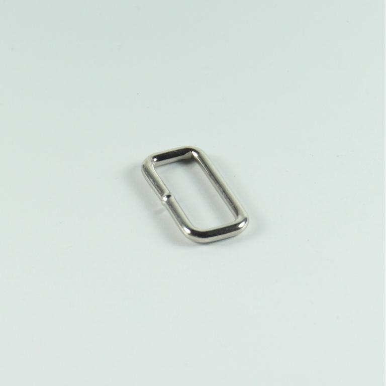 Smal firkantet ring 25 mm
